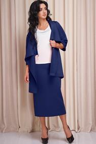 Модель 160 синий с белым Anastasia