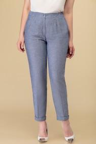 Модель 3416.1 серо-синий -брюки Дали