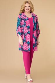 Модель 1576 цветы+фуксия Svetlana Style