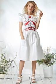 Модель 1623 белый Niv Niv Fashion