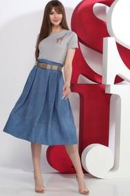Модель D52-1  серый с синим Juliet Style