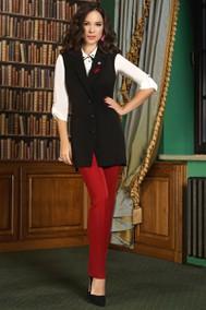 Модель 3362 черный+красный Lissana