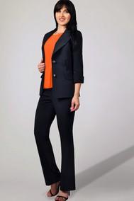 Модель 926-1 темные тона с оранжевым МиА Мода