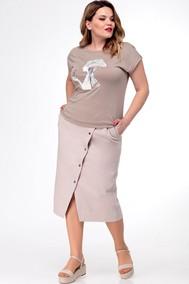 Модель Юб-023 светлый беж Talia fashion