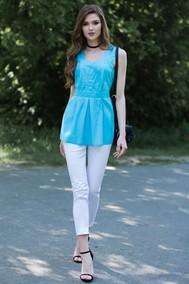 Модель 7118 голубой+белый Juanta