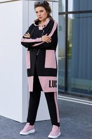 Модель 372 черный + розовый Мублиз