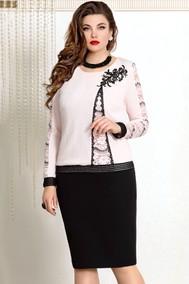 Модель 7763 светло-розовый+чёрный VITTORIA QUEEN