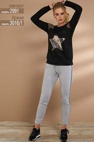 Модель 3016-1 серый Niv Niv Fashion