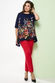 Модель 1248 темно-синий+красный Arita Style-Denissa