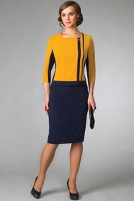 Модель 1955 сине-жёлтый GOLD Style