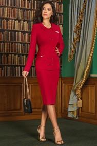 Модель 3248 карминово-красный Lissana