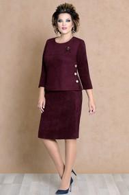Модель 4463 бордовый Mira Fashion