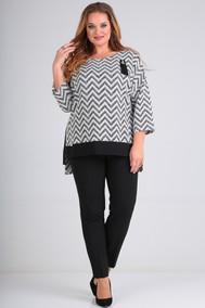 Модель 549 серо-черный SVT-fashion