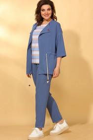 Модель 584 джинс+полоска Vilena fashion