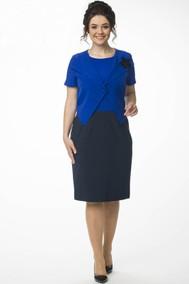 Модель 889 синий+тёмно-синий Melissena