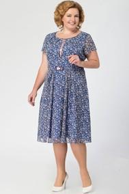 Модель 1415 синий+светло-розовый Кэтисбел