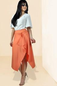 Модель 897 светлые тона +оранжевый МиА Мода