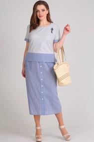 Модель 621 голубой, серый Anastasia MAK