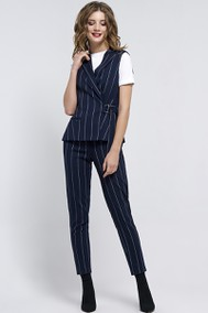Модель 1181 темно-синий+полоска Arita Style-Denissa