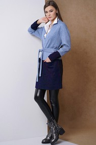 Модель 3326 голубой+тёмно-синий Fantazia Mod