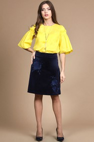 Модель 706 жёлтый+тёмно-синий Alani