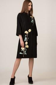 Модель 609 черный в цветы  Rosheli