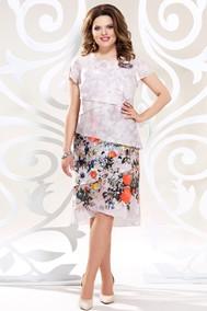 Модель 4811-3 бежевые-тона Mira Fashion
