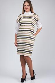 Модель 456 зеленая полоска SVT-fashion