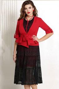 Модель 7263 красный+чёрный VITTORIA QUEEN