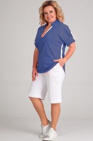 Модель 1436 синий, белый Диамант