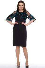 Модель 1108 черный+изумруд Arita Style-Denissa