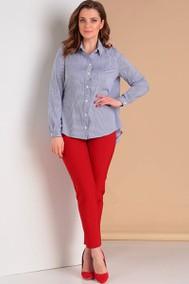 Модель 686 синий+красный Лиона-Стиль