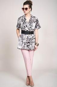 Модель 927 леопард+светло-розовый Alani