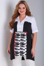 Модель 2043 черно-бело красный Ollsy