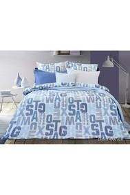 Модель 4253.490303 Letters голубой Блакiт