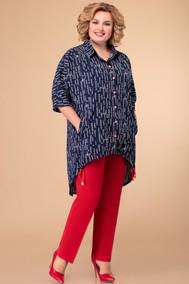 Модель 1396 Синий+красный Svetlana Style
