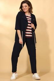 Модель 584 темно-синий+полоска Vilena fashion