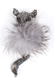 Модель Зверёк 97065 серый Fashion Jewelry