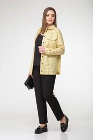 Модель 3818 желтый с черным  Эледи