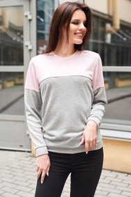 Модель 078д серо-розовый 164 T&A