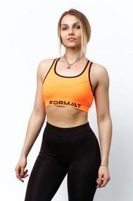Модель 211018/3 оранжевый/черный FORMAT