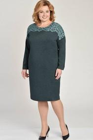 Модель 1502 Темно-зеленая бирюза Lady Style Classic
