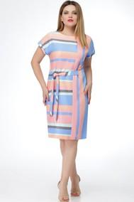 Модель 1111 голубой с розовым Verita