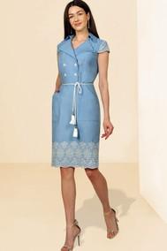 Модель 1049 голубой МиА Мода