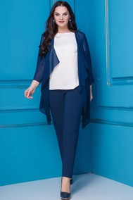 Модель 253 синий, молочный Anastasia