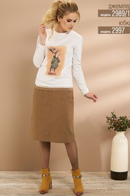 Модель 2997 коричневые тона Niv Niv Fashion