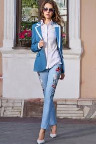 Модель 2897 сине-голубой Niv Niv Fashion