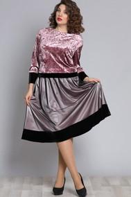 Модель 609 серый с розовым Галеан Cтиль