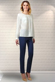 Модель Бл-077 белый Talia fashion
