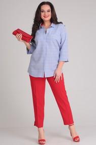 Модель 1012 голубой+красный Shetti